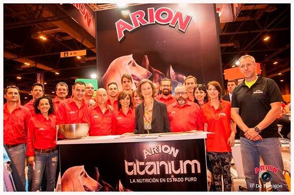 arion repite protagonismo en 100x100 mascotas como patrocinador principal del evento