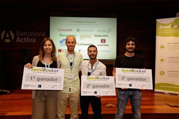 los emprendedores premian a gsi startup que geolocaliza y monitoriza mascotas