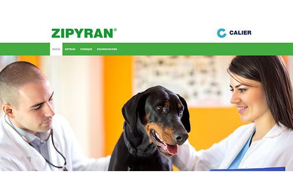 calier presenta su nueva web wwwzipyrancom para veterinarios y propietarios de mascotas