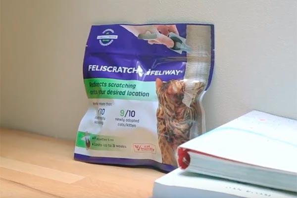 feliscratch de feliway la respuesta a los aranazos de los gatos en lugares inadecuados de la casa