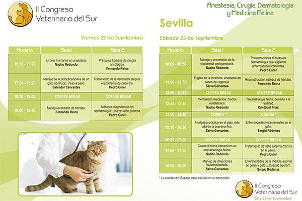 sevilla acoge este fin de semana el ii congreso veterinarios del sur