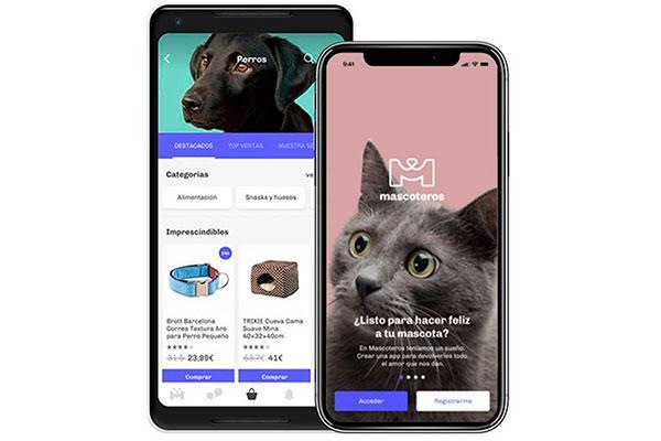 mascoteros lanza su app nativa para ofrecer una experiencia de usuario aun mas completa