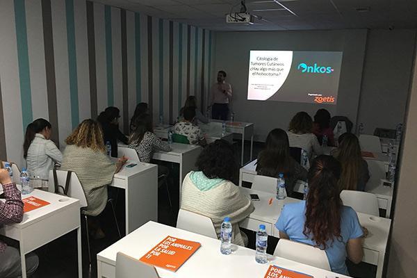 veterinarios andaluces ahondan en la citologia de tumores cutaneos