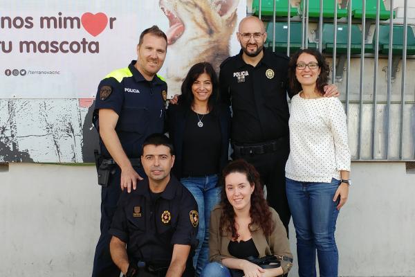 bayer colabora con el i campus de unidades caninas de policas locales de espaa