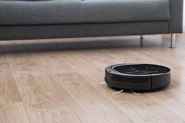 casa siempre limpia con el robot aspirador deluxe