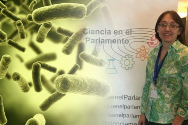 ceve representa a la veterinaria en las jornadas de ciencia en el parlamento