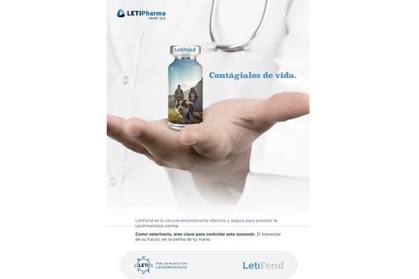contagialos de vida la nueva campana de letipharma para promover la vacunacion de los perros contra la leishmaniosis