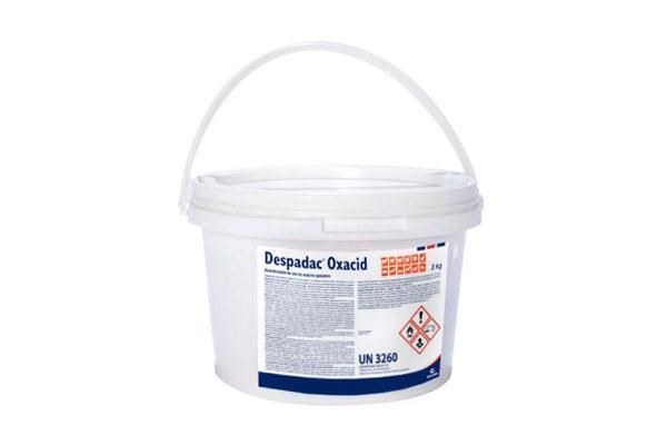 despadac oxacid el nuevo desinfectante de calier