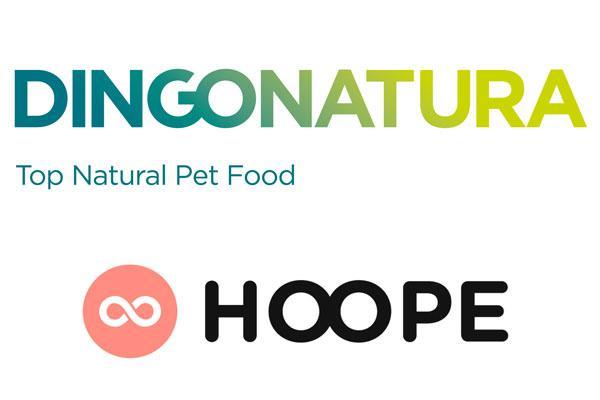 dingonatura dona alimentos para los animales de hoope