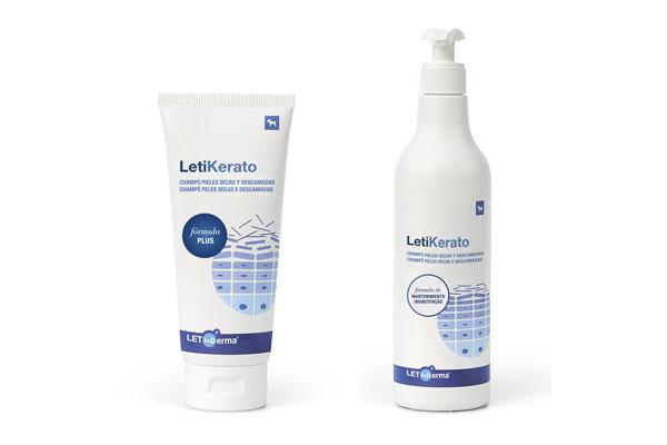 frmula plus y frmula mantenimiento los champs de letikerato para las pieles secas y descamadas