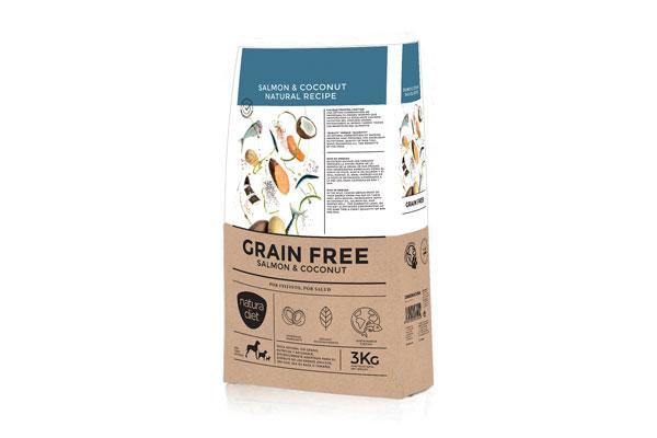natura diet grain free salmon amp coconut creatividad e innovacion culinaria al servicio de los perros