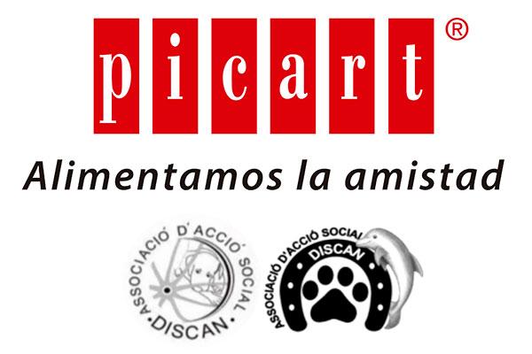 picart petcare colabora con la asociacion de accion social discan