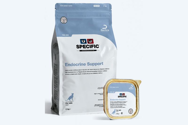 specific la gama de alimentos para el apoyo nutricional de la diabetes mellitus felina