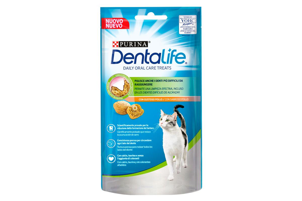 dentalife cat el nuevo snack de purina que cuida los dientes de los gatos