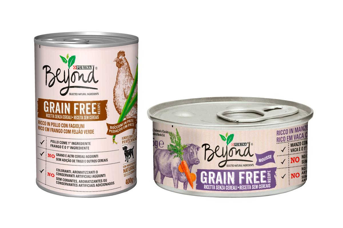 purina beyondsupsup se ampla con nuevas recetas de alimentacin hmeda sin cereales