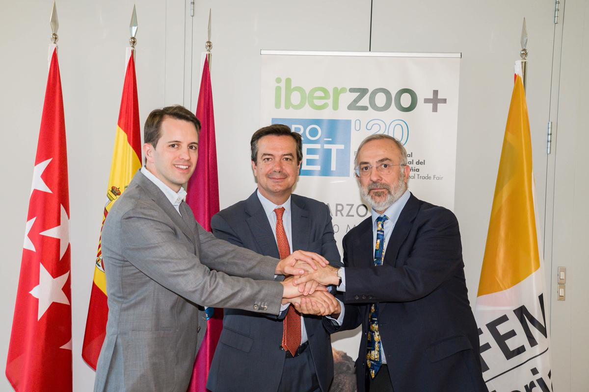 amvac y aedpac revalidan su acuerdo con ifema para la celebracion de iberzoopropet