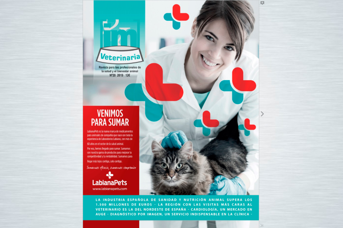 ya est disponible el n 20 de im veterinaria