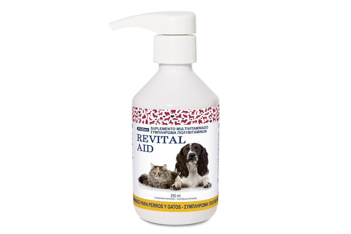revitalaid el complemento vitamnico que ayuda a recuperar la vitalidad de perros y gatos