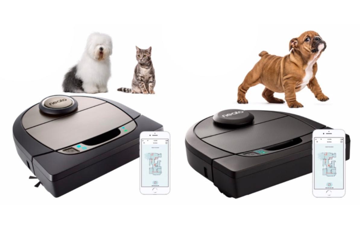 neato facilita la limpieza de los hogares con mascotas