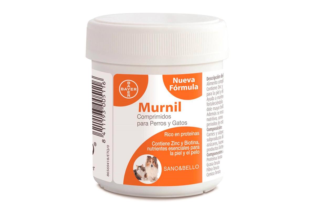 pelo sano fuerte y brillante con la formula renovada de murnil