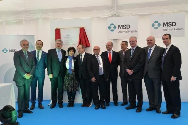 msd animal health se situacutea a la vanguardia con su nueva planta de fabricacioacuten en salamanca