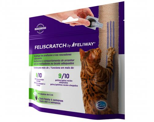 ceva salud animal lanza el innovador feliscratch by feliway