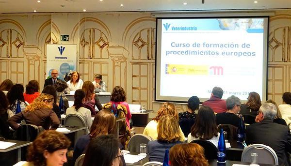 eacutexito del curso de formacioacuten en materia de procedimientos europeos de veterindustriaaemps
