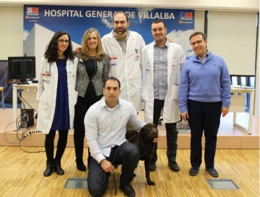 el hospital general de villalba apuesta por la ldquoperroterapiardquo para aliviar el dolor abdominal asociado al estreacutes en nintildeos
