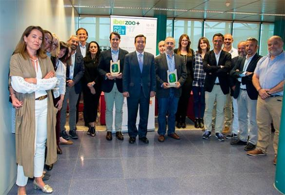 ifema premia a aedpac y amvac por impulsar la creacioacuten de iberzoopropet