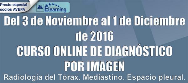 la inscripcioacuten para el curso online de avepa elearning sobre radiologiacutea del toacuterax sigue abierta