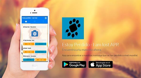 la app ldquoestoy perdidordquo ayuda a encontrar raacutepidamente una mascota perdida