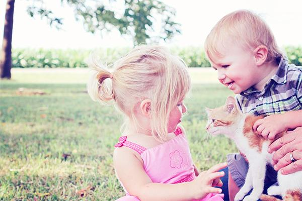 los nintildeos valoran la compantildeiacutea de su mascota incluso maacutes que la de un hermano