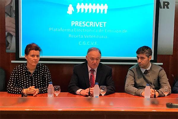 presentada quotprescrivetquot la plataforma de emisioacuten de la receta electroacutenica veterinaria