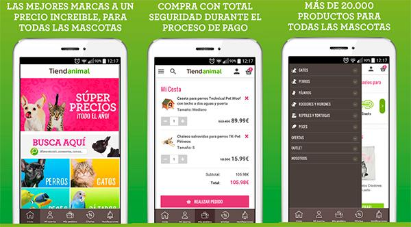 tiendanimal lanza su app para comprar desde el smartphone