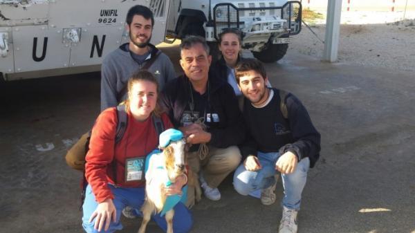 veterinarios de la ceuuch repiten misioacuten humanitaria junto a los cascos azules de la onu