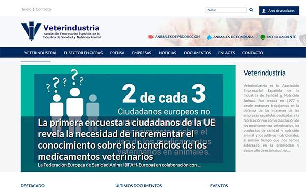 veterindustria pone en marcha su nuevo portal web